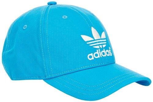 Adidas adicolor classic casquette pour homme taille unique Bleu - Blau (Solar Blue/Run White)