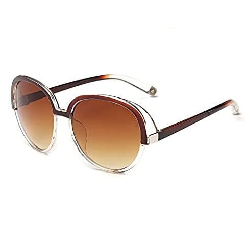 Z-P New Style Fashion Anti-UV Vintage Concise Geek Women's Personality Sunglasses (Super Jet Sci)