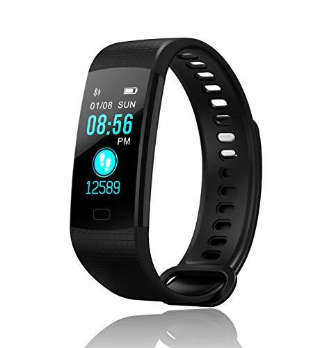 loopwatch orologio fitness tracker smartwatch gps schermo oled app android ios cardiofrequenzimetro da polso uomo donna contapassi calorie corsa sport monitoraggio sonno impermeabile ip67