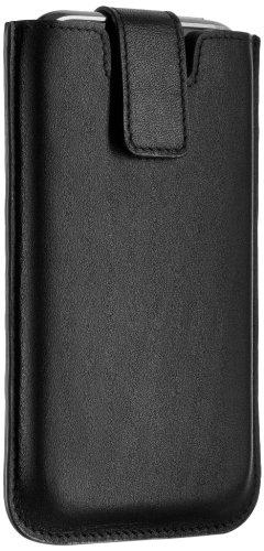 Philips DLM 63095 SlimSleeve Ledertasche für Apple iPhone schwarz -