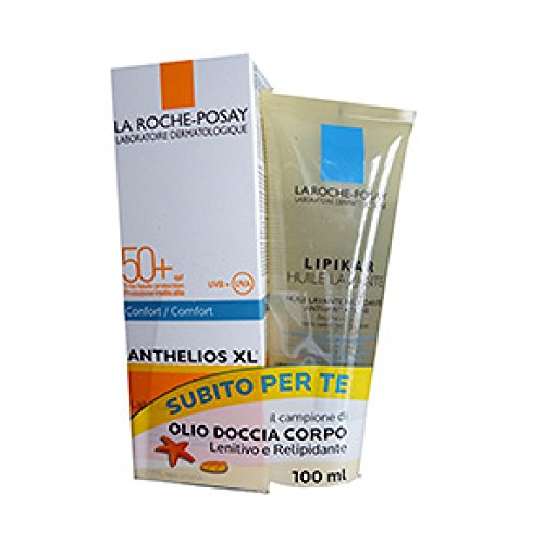 La Roche-Posay Anthelios Xl Spf50 Latte 100ml + Lipikar Olio Detergente 100ml Promo