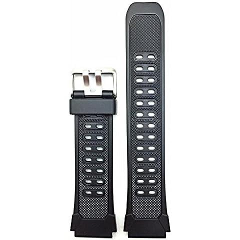 20mm Negro Reloj de banda