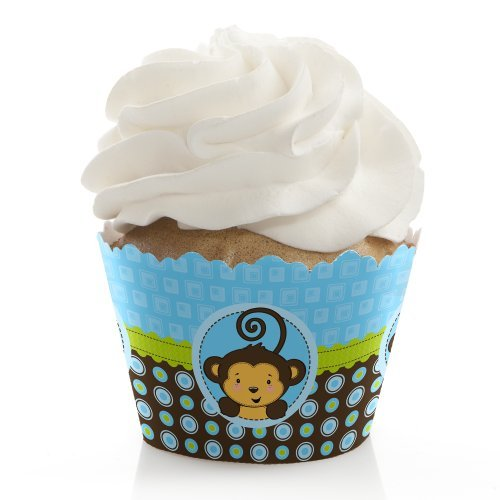 Monkey Boy - Cupcake Wrappers (Set von 12)