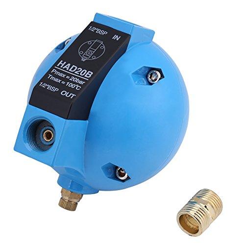 Akozon HAD20B automatische Kondensat mechanische Runde Float Ablaufventil 1/2BSP 400L/H 20Bar (Ablassventil Automatisches)