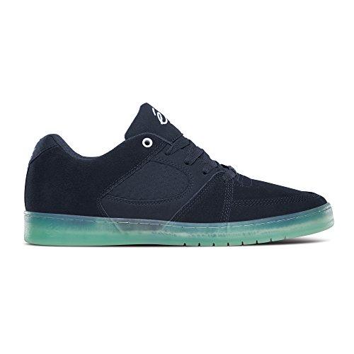 Es Accel Slim brown/gum Shoes Navy/Blue/White