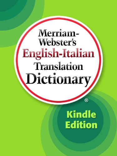 Merriam-Webster's English-Italian Translation Dictionary