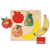 Goula Fruits Peg Puzzle (4-Piece)