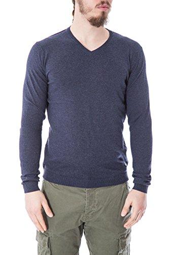 ONLY & SONS - Homme col v pullover 22005455 alexander blue