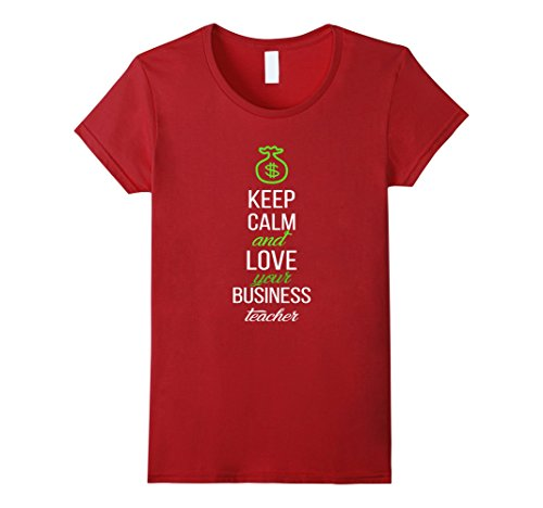 Business Teacher T-shirt - Keep calm and love your business