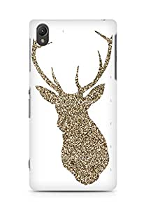 Amez designer printed 3d premium high quality back case cover for Sony Xperia Z2 (Antlers)