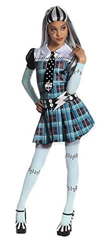 Frankie Stein Perruque - Deguisement Frankie Stein Monster High enfant robe