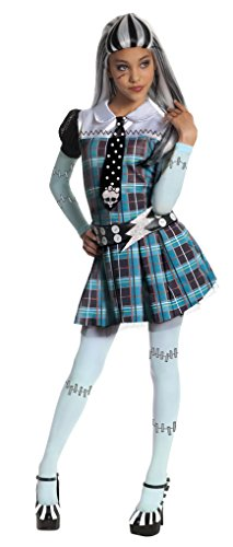 Frankie Stein Kind Kostüm, Medium - 5-7 Jahre - 132cm (Monster High Outfit)