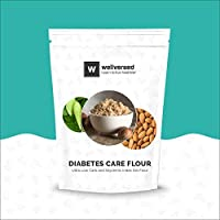 Wellversed Diabetes Care Flour (500g) - Ultra Low Carb and Glycemic Index (GI) Flour | High in Fibre and Plant Protein
