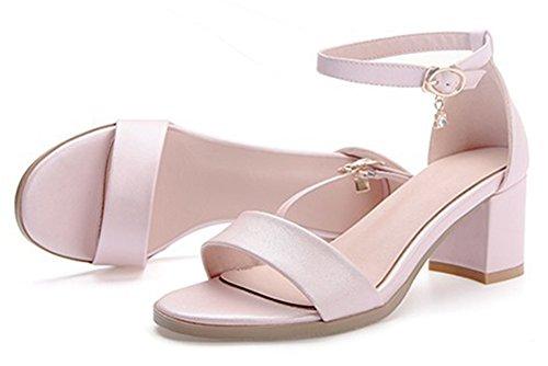 Garlos , Bride Cheville femme - rose - abricot,