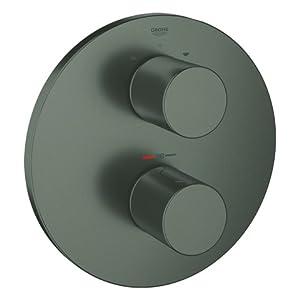 Grohe Grohtherm 3000 Cosmopolitan termostato parte exterior baño Brushed Hard Graphite