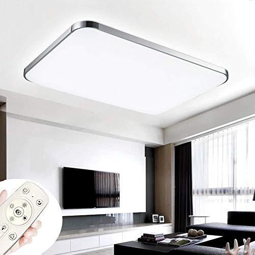 COOSNUG Luces de techo 72W Lámpara de techo ultradelgada LED ultradelgada Lámpara de la sala de estar...