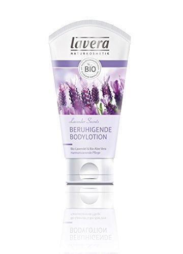 Lavera Beruhigende Bodylotion Bio-Lavendel und Aloe Vera, 2er Pack (2 x 150 ml)