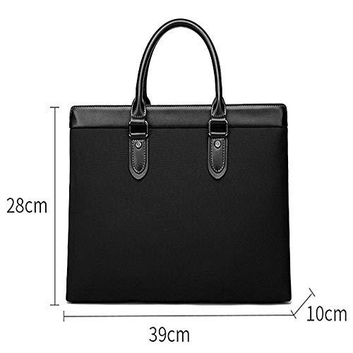 Owenqian Mens Laptop Bag Umhängetasche Aktentasche Für Männer Leder Laptoptasche Business Tote 14