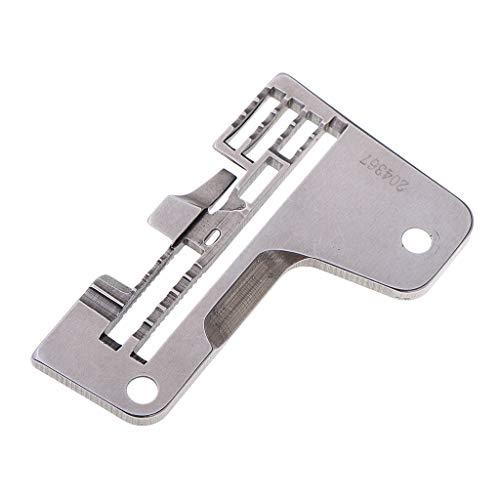 perfk Nähmaschine Nadel Stichplatte für Pegasus L32-38 Industrielle Overlock Maschinen