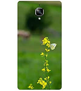 One Plus 3T (Marklif case cover) BUTTERFLY