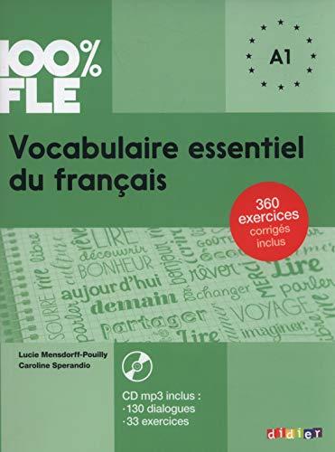 Vocabulaire Essentiel Du Francais Niv A1 Livre Cd 100