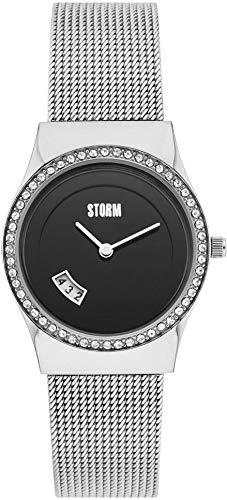 Storm London CYRO Crystal Black 47385/BK Reloj de Pulsera para Mujeres