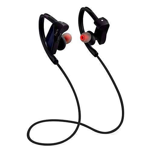 LRWEY Bluetooth Headset, Drahtloses Bluetooth-Headset V4.1 Stereo-Sport-Ohrhörer, für iPhone, iPad, Samsung, Huawei, Tablet usw