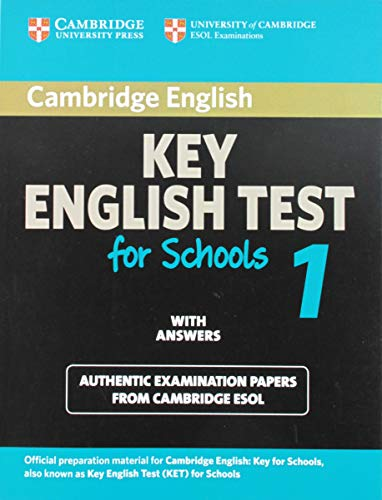 Cambridge Key English Test for Schools 1 Student's Book with answers (KET Practice Tests)