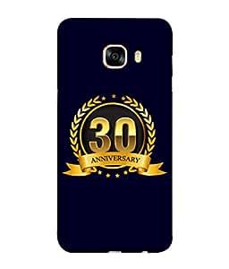 PrintVisa Designer Back Case Cover for Samsung Galaxy C7 SM-C7000 (Life Love Occasions Aniversary Vision Celebrations)
