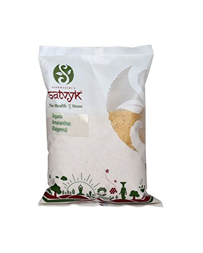 Organic amaranth Seeds (Rajgira) 500g  available at amazon for Rs.85