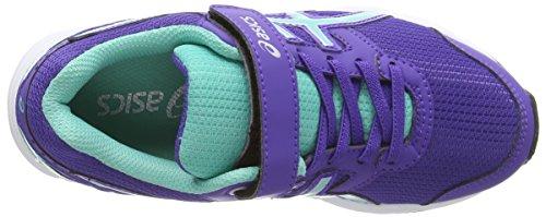 ASICS Pre Galaxy 8 Ps, Unisex - Kinder Laufschuhe Training Blau (blueberry/blue Green/silver 5283)