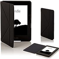 Forefront Cases® Amazon Kindle Voyage Funda Carcasa Stand Smart Case Cover Protectora Plegable – Función automática inteligente de Suspensión/Encendido
