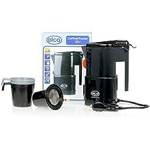 Alca KFZ Hervidor de agua, calentador de agua, hervidor para te, hervidor para café, 12V + 2 tazas con filtro de café, filtro de té en un 542120 que se ...