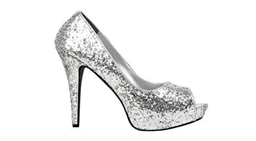 Boland Schuhe Allure silber -