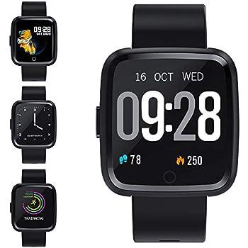 Pulsera Actividad a Color Reloj Inteligente con Pulsómetro y Presión ...