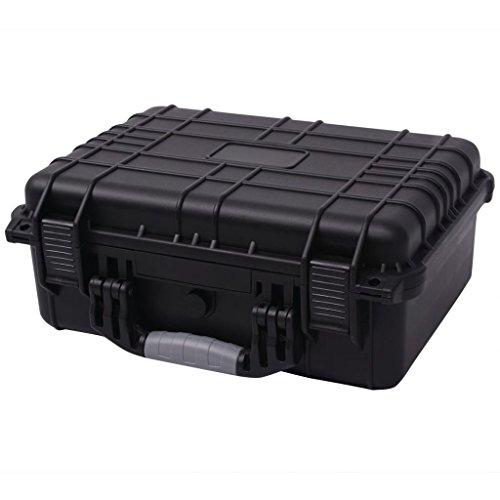 vidaXL Universalkoffer mit Schaum Kamera Objektiv Schutz Koffer 40,6x33x17,4 cm