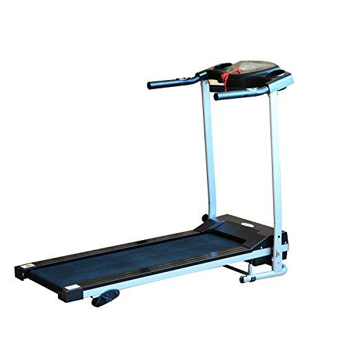 Homcom® Elektrisches Laufband Fitnessgerät Klappbarer Heimtrainer mit LCD-Display 120 kg Belastung 500 W