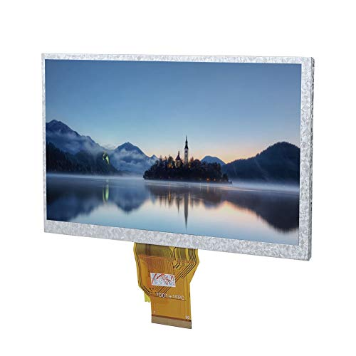 Garsent 7 Zoll Touchscreen HDMI Monitor, LCD High Definition Display IPS Bildschirm für Raspberry Pi, kompatibel mit Windows XP / 7/8 /10. -