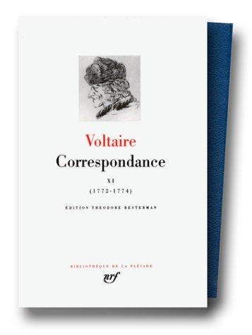 Voltaire : Correspondance, Juillet 1772 - Decembre 1774, tome 11