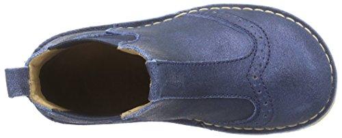 Bisgaard Boot, Bottes Chelsea courtes, doublure froide mixte enfant Bleu - Blau (135 Glitter-blue)