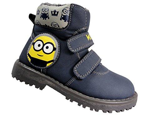 Despicable Me Minions , Jungen Stiefel Blau (Me Schuhe Despicable)