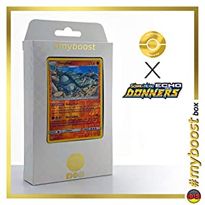 Donphan 112/214 Holo Reverse - #myboost X Sonne & Mond 8 Echo Des Donners - Box de 10 Cartas Pokémon Alemán