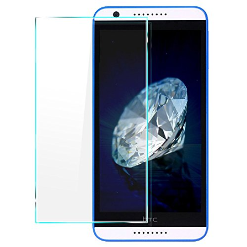 Heartly Imak 9H Hardness Anti Explosion 0.3mm Tempered Glass 2.5D Arc Edge Screen Guard Protector For HTC Desire 620 620G 820 Mini Dual Sim