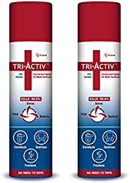Tri-Activ Alcohol Based Disinfectant Spray for Multi-Surfaces