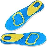 Wgwioo Gel-Silikon-Einlegesohle, Sport-Orthesen-Schuh-Auflage-Stoßdämpfung, Entlasten Fuß-Schmerz und Fasciitis... preisvergleich bei billige-tabletten.eu