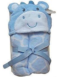 Plüsch mit Kapuze Wrap 0–5Jahre Snuggle Handtuch, Bademantel, Super Weich, Rosa oder Blau