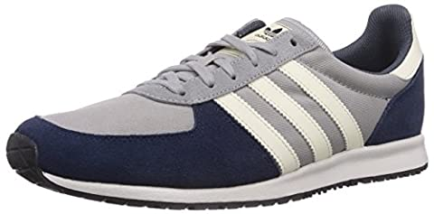 Adidas Adistar Racer, Chaussons Sneaker Homme - Gris (mgh Solid Grey/cream White/core Black), 42 EU