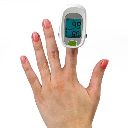 MedX5 PROFI Finger Pulsoximeter, Pulsmessgerät, Fingerpulsoximeter, Oximeter, Pulsmesser, Medizinprodukt nach MDD