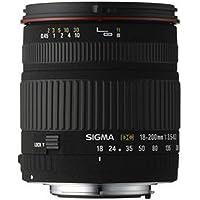 Sigma 18-200 mm F3,5-6,3 DC-Objektiv (62 mm Filtergewinde) für Sigma Objektivbajonett