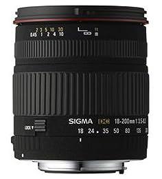 Sigma 18-200mm F3,5-6,3 DC Objektiv (62mm Filtergewinde) für Pentax